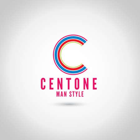 C Letter Logo Ilustração