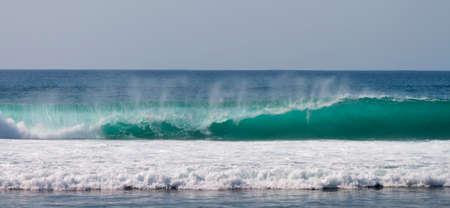 ocean waves: Energy of blue ocean waves