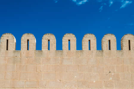fortified wall: Fortified Wall around Tunsian Old Town
