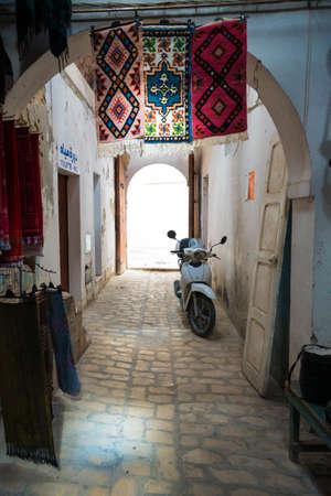 enclosed: Traditioinal Arabic Medina Enclosed Street