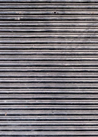 security shutters: Black Dusty and Dirty Closed Security Shutters