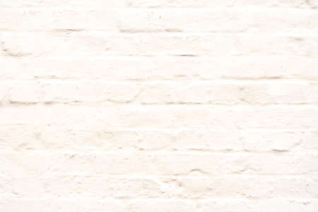 white washed: Plain White Washed Textured Brick Wall Stock Photo