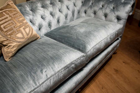 expensive: Expensive Pattern Cushions on Soft, Luxury, Comfortable Sofa