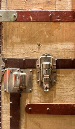Close Up Trunk Suitcase Lock