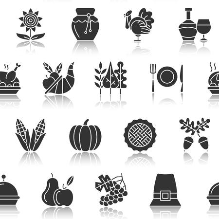 Thanksgiving day pattern.