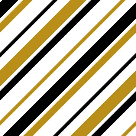 Simple gold black white strip line on white seamless pattern abstract background. Christmas season, birthday holiday gift paper wrap. Repeat ornamentfabric print, wallpaper decor. Vector illustration Ilustrace