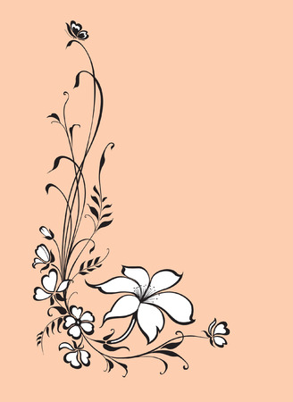 floral background Stock Vector - 5562336
