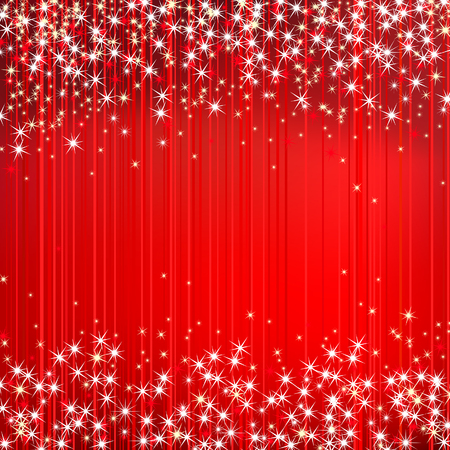 희미한 빛: 추상 빨간색 배경 벡터 일러스트