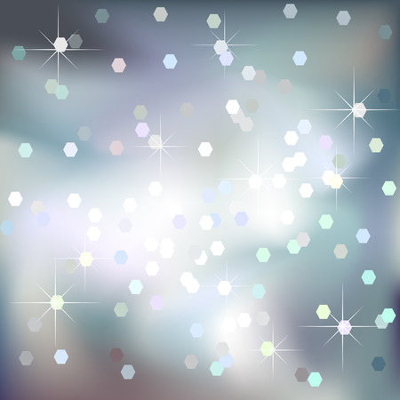 Abstract light blue vector background Vector