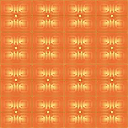 Orange seamless  background Stock Vector - 6452822