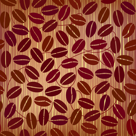 coffee beans: coffee beans seamless  pattern  Illustration