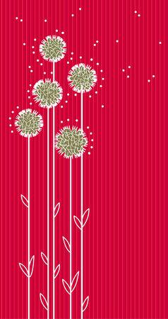 dekor: Floral background