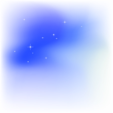 Sky, clouds, stars. Abstract light blue  background Stock Vector - 7743818