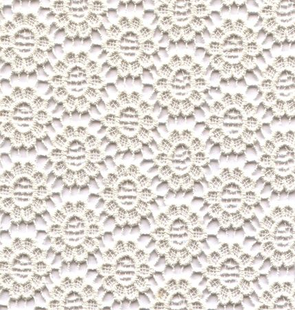 gestickt: White Lace Blumen  Lizenzfreie Bilder
