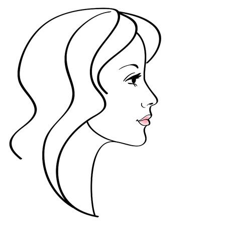 Female icon Stock Vector - 8082963