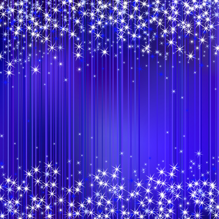 Christmas  abstract sparkle background with stars Stock Vector - 8146955
