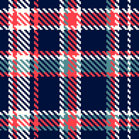 scottish: Seamless checkered pattern
