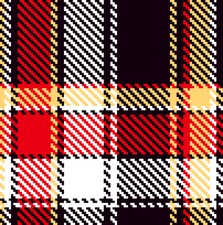 Seamless checkered pattern Stock Vector - 8472893