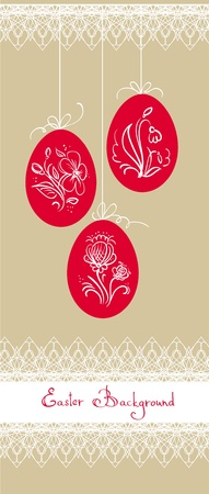 easter card Stock Vector - 9193990