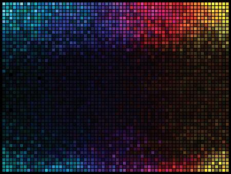 vibrant colors fun: Sfondo discoteca multicolor luci astratta