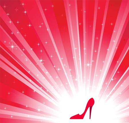 red shoes  Stock Vector - 9719884