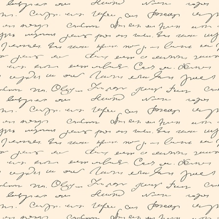 vintage wallpaper: Seamless abstract handwritten text pattern