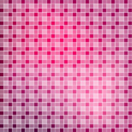 Abstract tile red and pink seamless background  Square pixel mosaic vector  Vector