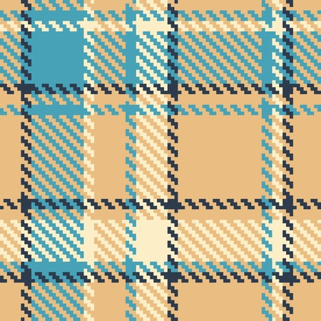 seamless checkered color vector pattern  Vector