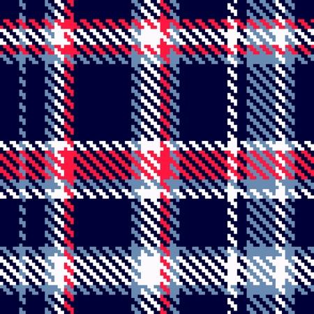 Seamless Vector Checkered