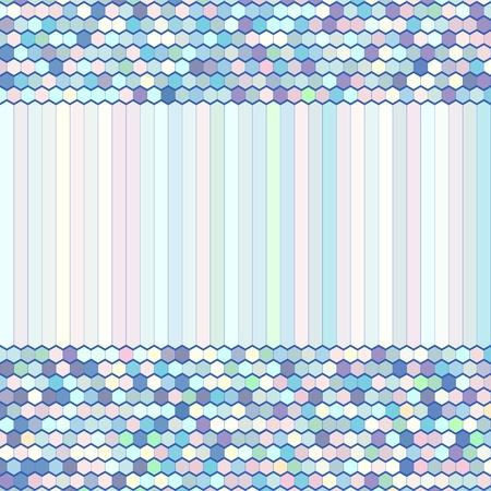 Background, Color Comb Ornament Illustration Vector