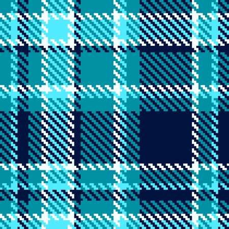 Seamless checkered Vector