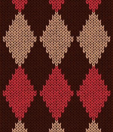 sueter: Estilo transparente Color Rojo Marr�n Amarillo de punto Patr�n