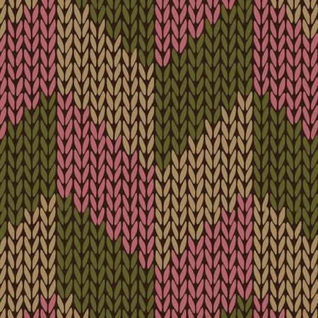 tejidos de punto: Estilo de punto de color transparente Patr�n Vectores