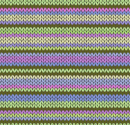 wool fiber: Estilo de punto de color transparente Patr�n Vectores