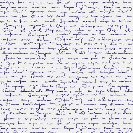 shorthand: Seamless abstract handwritten text pattern