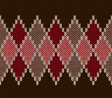 maglioni: Style Seamless Rosa Marrone Colore Rosso maglia modello