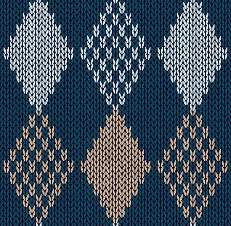 sueter: Estilo de color azul sin costuras, de adorno
