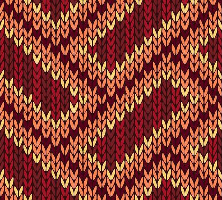 northern african: Abstract Ethnic Knitted Seamless Background.