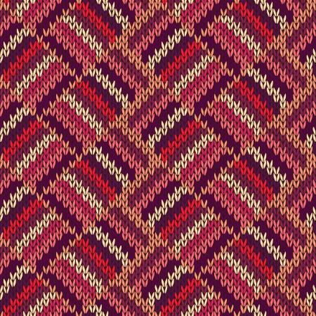tejidos de punto: Seamless color Estilo de punto estampado, adorno,