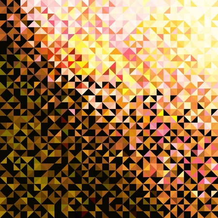 Abstract Light Brilliant Fun Holiday Pattern. Bright Sparkle Fashion Background Illustration