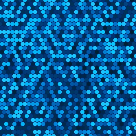 halftone background: Abstract Seamless Blue Halftone Comb Dots. Light Disco Club Fun Holiday Pattern. Bright Sparkle Party Vector Background  Illustration