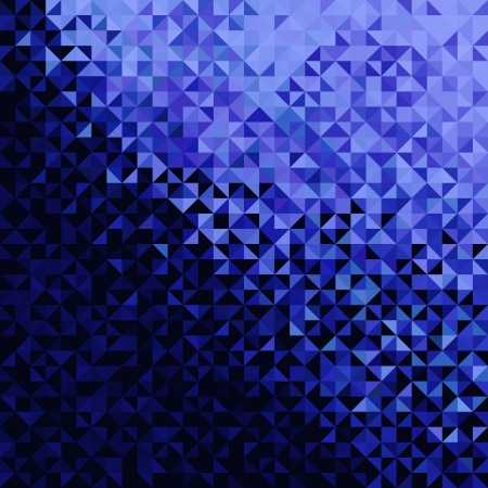 Abstract Lights Blue Black Disco Background Vector