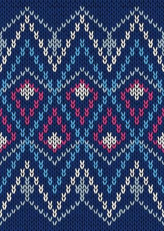 tejidos de punto: Seamless Male Estilo Ornamentales Patr�n de punto Vectores