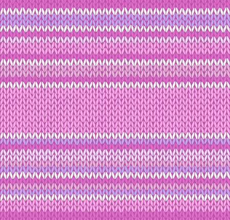 warm clothing: Seamless Pink Color Style Knitted Pattern