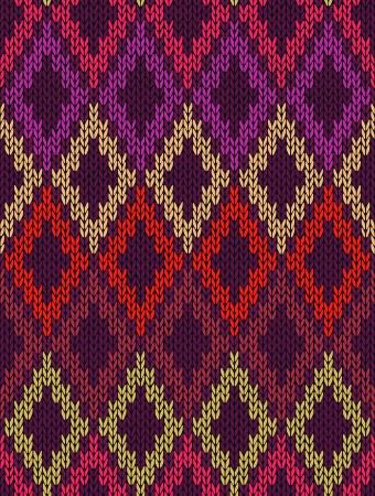 tejidos de punto: Mujer Seamless Knitting y dise�os de bordado ornamental