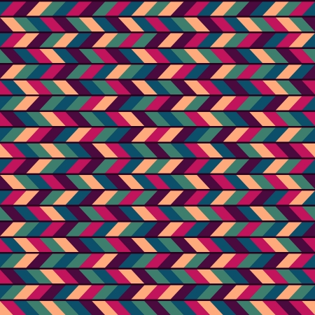 wickerwork: Abstract Colorful Seamless Industrial Vector Background