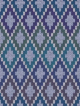 Light Background transparent de couleur tricoté en laine Carrés Vichy