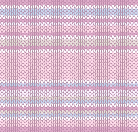 Seamless Pattern. Knit Texture  Vector