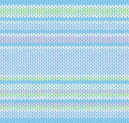 warm clothes: Seamless Pattern. Knit Texture. Fabric Color Tracery Background  Illustration