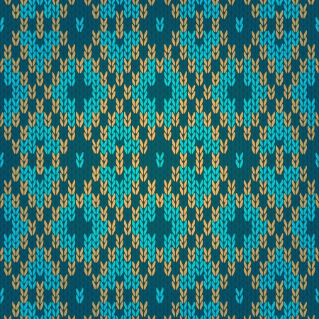 carpet texture: Ethnic Style Seamless Knitted Pattern